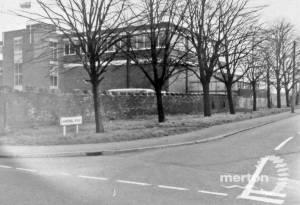Workhouse Wall, Windmill Road, Mitcham
