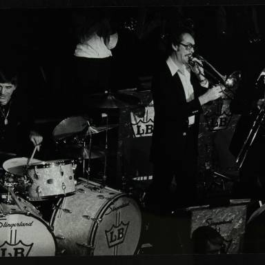 Louie Bellson, Kurt Berger, Doug Wintz and Don Menza (left to right)