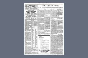 14 NOVEMBER 1914