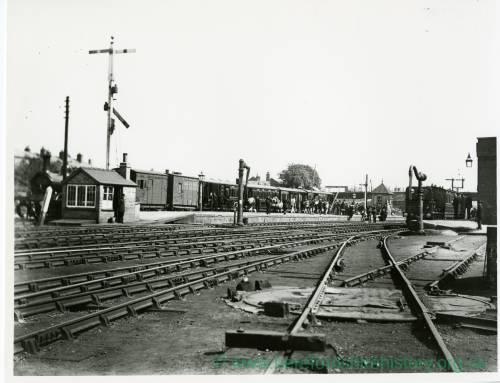 Barton railway station, Hereford, 1892