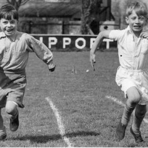 School sports day, Herefordshire