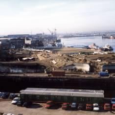 Former Brigham & Cowan Shipyard area