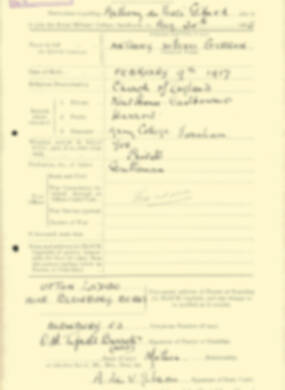 RMC Form 18A Personal Detail Sheets Aug 1935 Intake - page 81