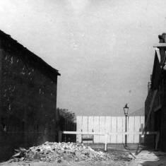 World War II bomb damage to Pontop Street
