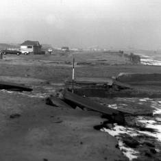 Damage to Foreshore