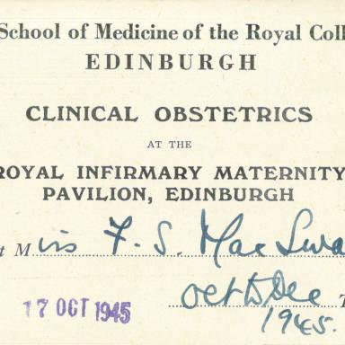 Clinical Obstetrics - part 1