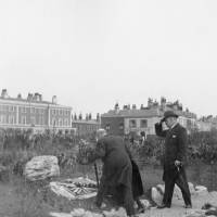 Marine Terrace Green, Waterloo unveiling the tablet, April 1932
