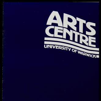 Arts Centre, University of Warwick, May 1980