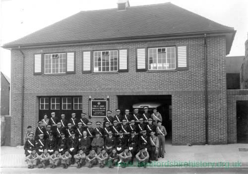 St Johns Ambulance Station, Edde Cross Street, 1938