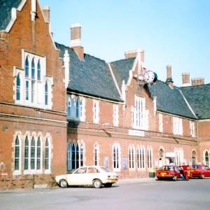 Railway Station, Hereford c1990