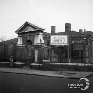 Holborn Union Workhouse, Western Road, Mitcham