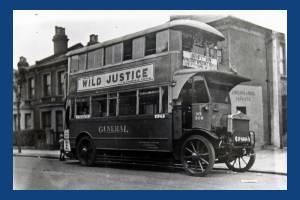A Wimbledon bus