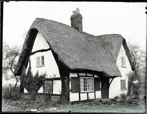 Thatched Cottage, Hampton Bishop, Herefordshire, 1935