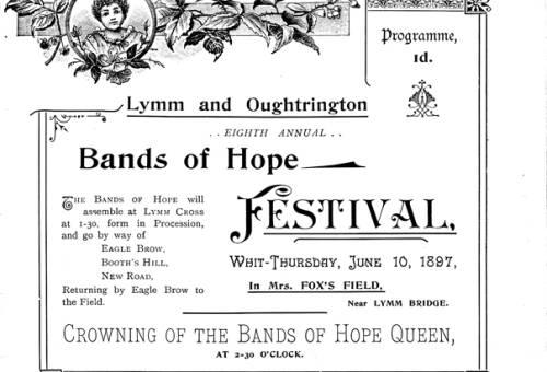 1897, Bands of Hope Festival
