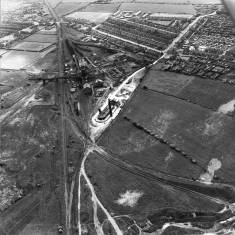 Old Brickworks at Boldon Colliery