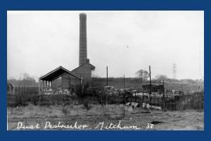 Dust destructor, Homewood Road, Mitcham