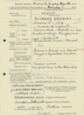 RMC Form 18A Personal Detail Sheets Feb & Sept 1933 Intake - page 216