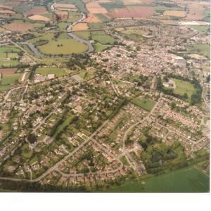 Li14980k Aerial photo of Ross-On-Wye 1988.jpg