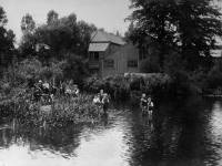 The River Wandle, near Terrier's Bridge, Colliers Wood.