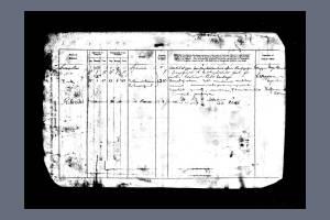 Service Record - Robert Walter Elgood