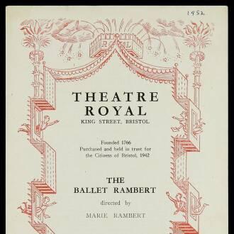 Theatre Royal, Bristol, February–March 1952 - P02