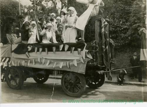 1925 Ross Hospital Carnival: Junior Imperial League