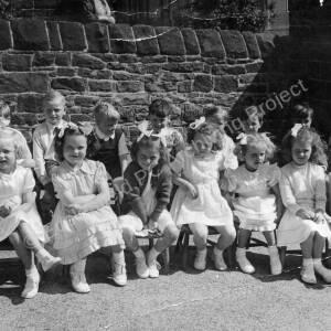 May Queen Parade Grenoside Junior & Infant School Early 1950's 04.
