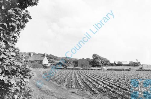 Little Crosby Village from Delph Hay
