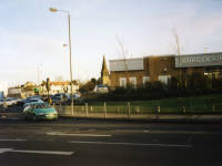 Priory Retail Park, Burger King and Curry's, Colliers Wood