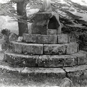 Whitchurch Cross base, 1928