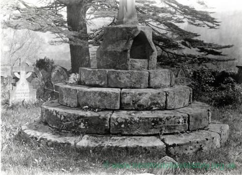Whitchurch Cross base, 1928