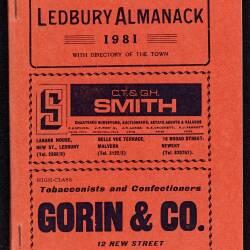 Tilley's Ledbury Almanack 1981