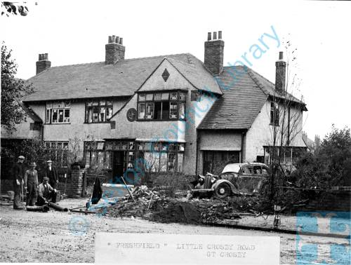 """Freshfield"", Little Crosby Road, Crosby, Oct 1940"