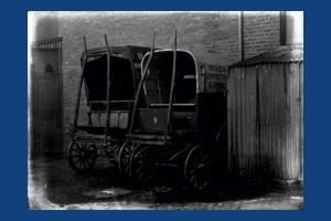 Horse-drawn carts, Wimbledon