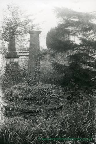 Bishops Frome church, cross, 1929