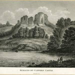 Clifford Castle, remains