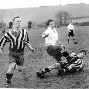 Grenoside Sports F.C.Versus Little Matlock F.C. 1953.