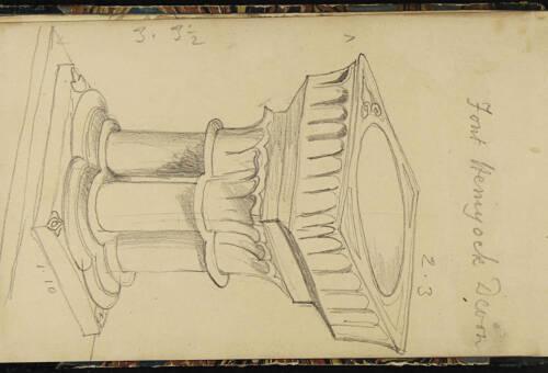 Page 8 of sketchbook 1