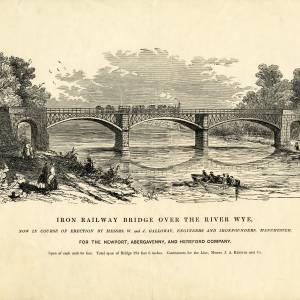 Iron Railway Bridge over the River Wye