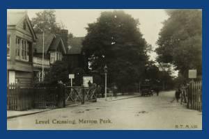 Merton Park Level Crossing