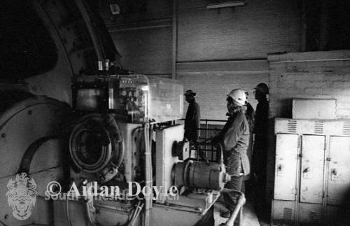 Easington Colliery, North Pit Engine Winding House