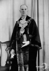 J.E.C. Stroud, Wimbledon councillor, 1950-52
