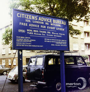 London Road, Mitcham: Citizens' Advice Bureau