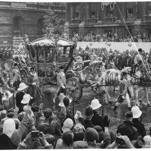 "283 - Coronation Coach ""June 2nd 1953 - Whitehall"""
