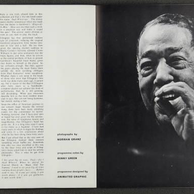 Duke Ellington Orchestra British Tour – February 1967 007