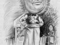 Grocer Stovell: As depicted by Mitcham cartoonist Mr.Collingsby