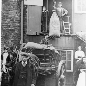 Hollowgate, Bracken Hill, Corn loading