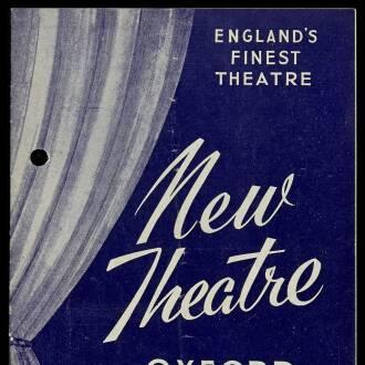 New Theatre, Oxford, June 1964