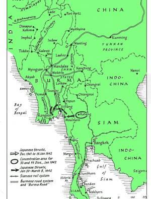 Fall of Burma