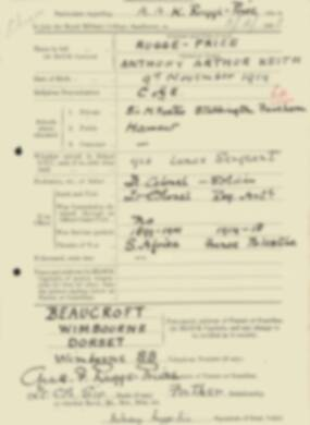 RMC Form 18A Personal Detail Sheets Feb & Sept 1933 Intake - page 114